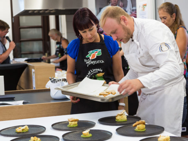 Livonian Culinary Route project activities in Estonia