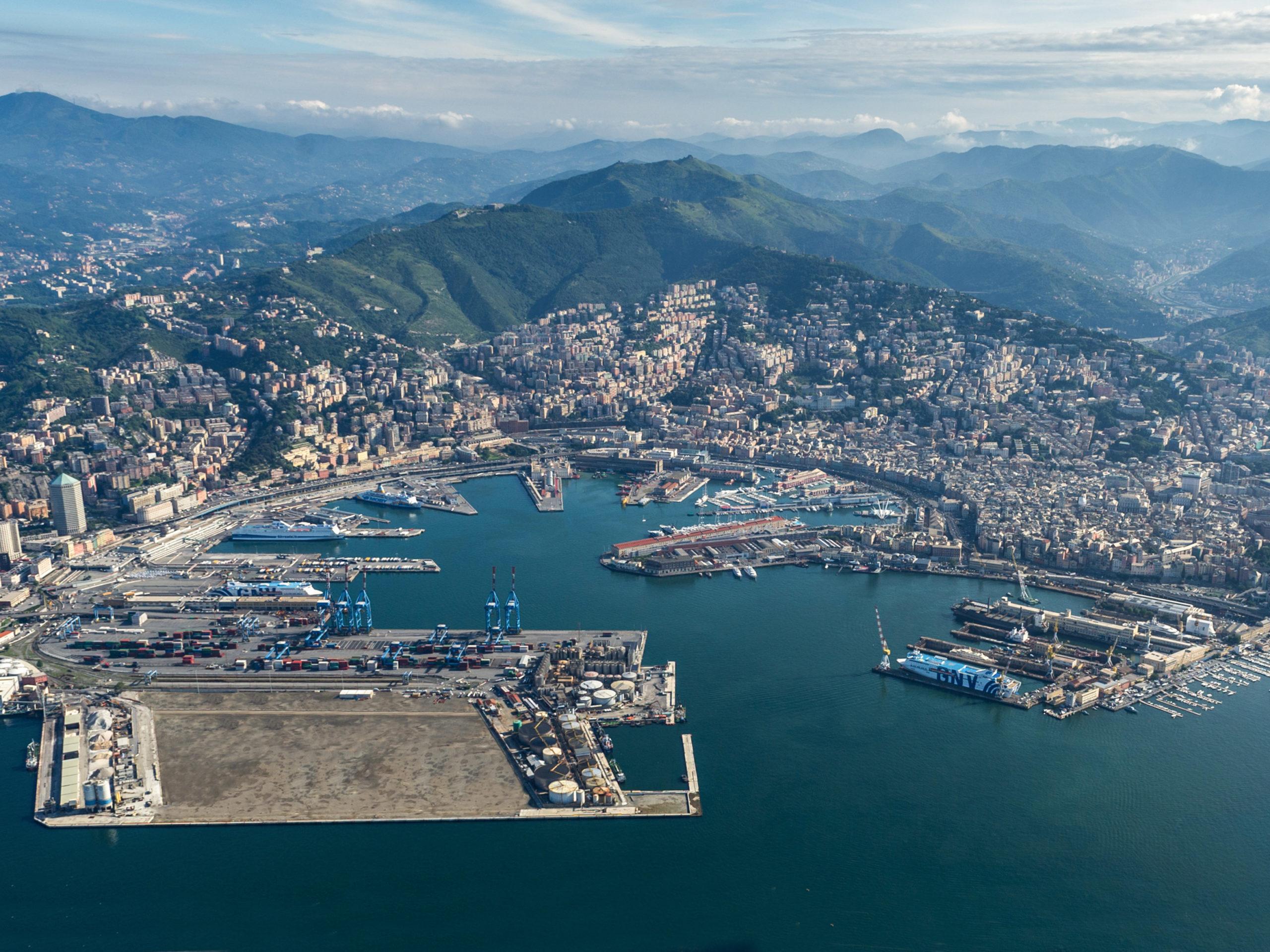 Port of Genoa. Port Authority of the Western Ligurian Sea