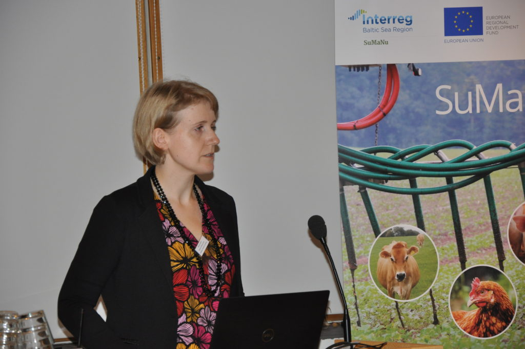 Minna Sarvi is a researcher at the Natural Resources Institute Finland (Luke). Photo by Eliisa Malin (BSAG)