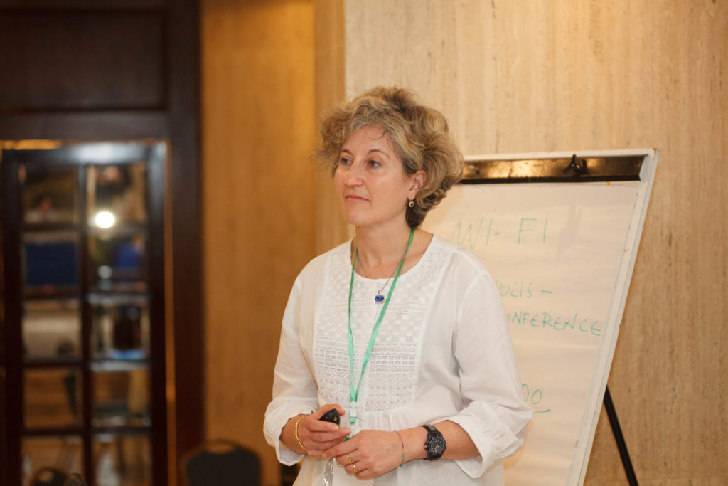Marina Lipizer, scientist at the Italian National Institute of Oceanography and of Applied Geophysics, Trieste (Italy)